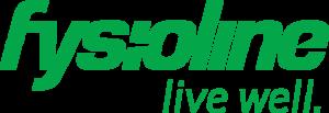 Fysioline live well logo.