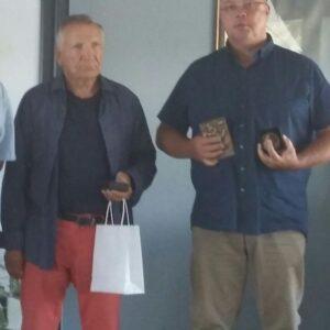 EinoGrön ja Tomas Johansson.