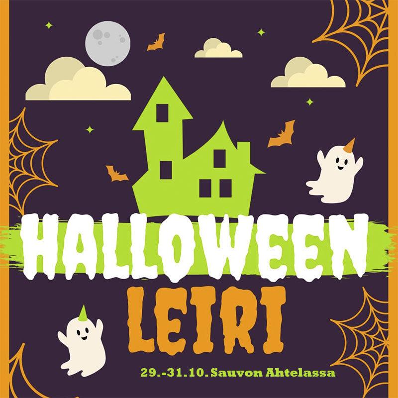 Halloween-leiri järjestetään 29.-31.10. Sauvon Ahtelassa.
